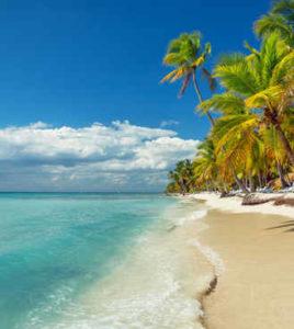 La spiaggia di Santo Domingo